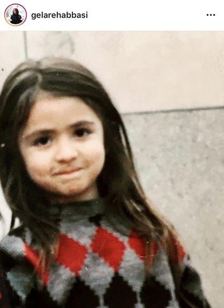 کودکی های گلاره عباسی + عکس