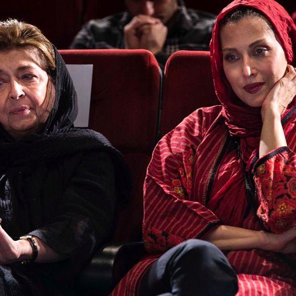 مهتاب کرامتی در اختتامیه جشن فیلم کوتاه+عکس