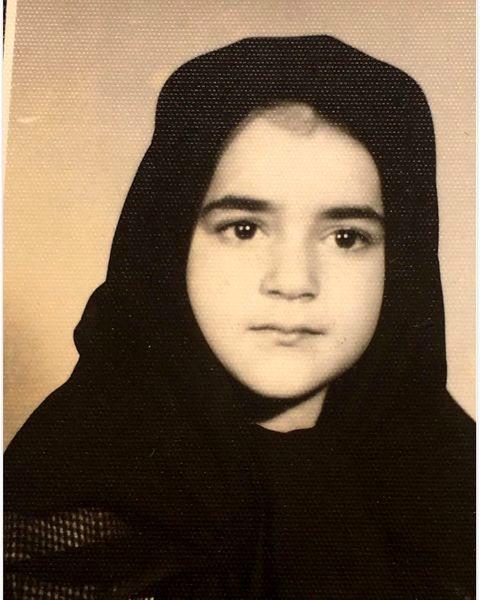 نعیمه نظام دوست در دوران کودکی + عکس
