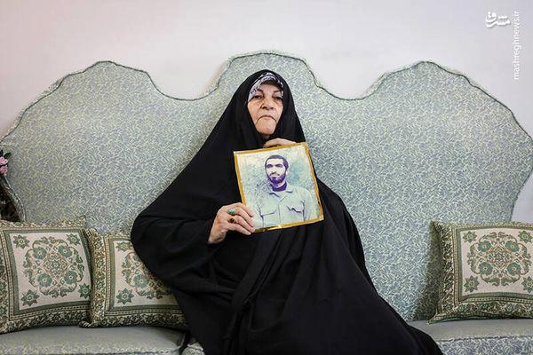 دیدار با مادری که پسرش را در قبر گذاشت