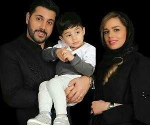 تبریک احسان خواجه امیری برای تولد پسرش+عکس