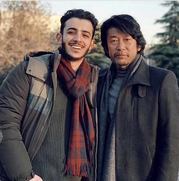 علی شادمان و دوست خارجی اش + عکس