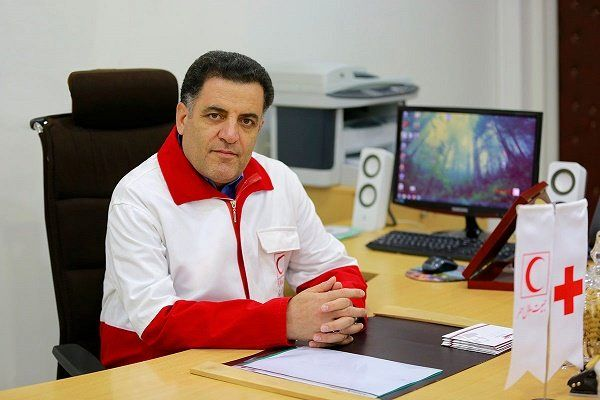 کمک ۲۳ میلیون فرانکی صلیب سرخ به زلزله زدگان کرمانشاه