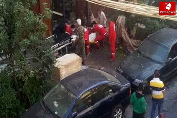 حمله راکتی تروریستها به دمشق