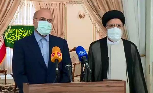 قالیباف در دیدار با رئیسی: با تلاش جهادی به حمایت مردم پاسخ دهیم