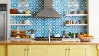 ایدههایی برای دیوارپوش آشپزخانه
