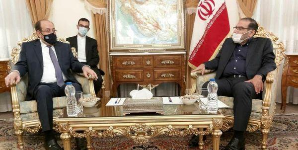دیدار نوری المالکی با دبیر شورای عالی امنیت ملی