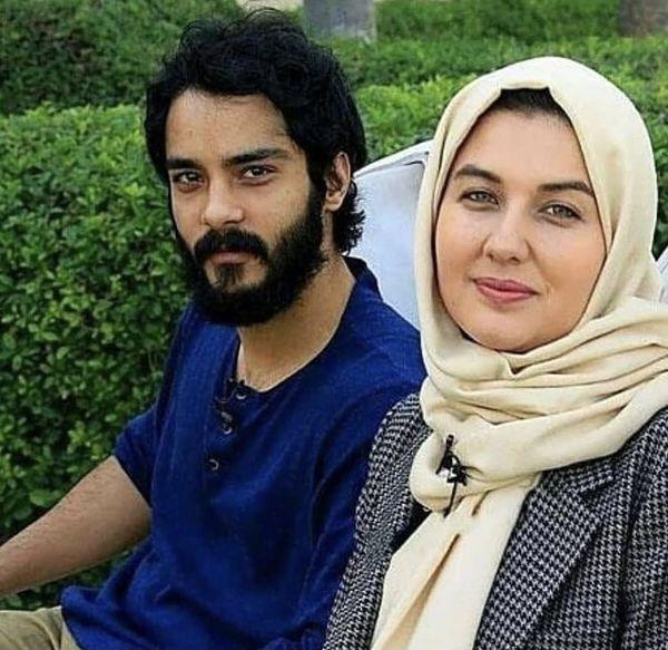 ساعد سهیلی در کنار همسرش + عکس