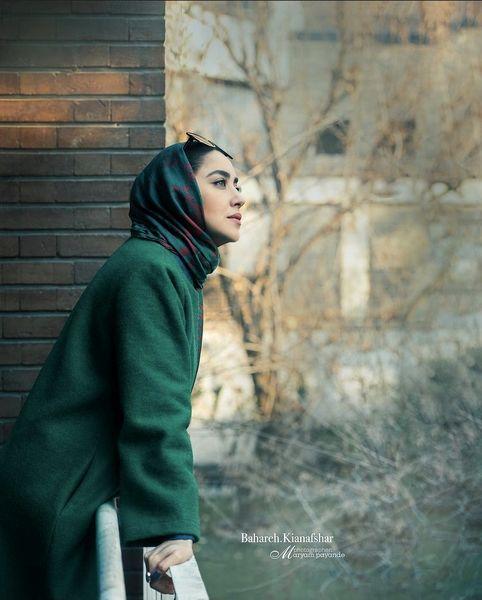 سبزی بهاره کیان افشار در میان زمستان سرد + عکس
