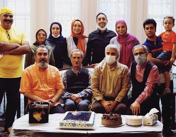 تولد دسته جمعی بازیگران سریال ۰۲۱ + عکس