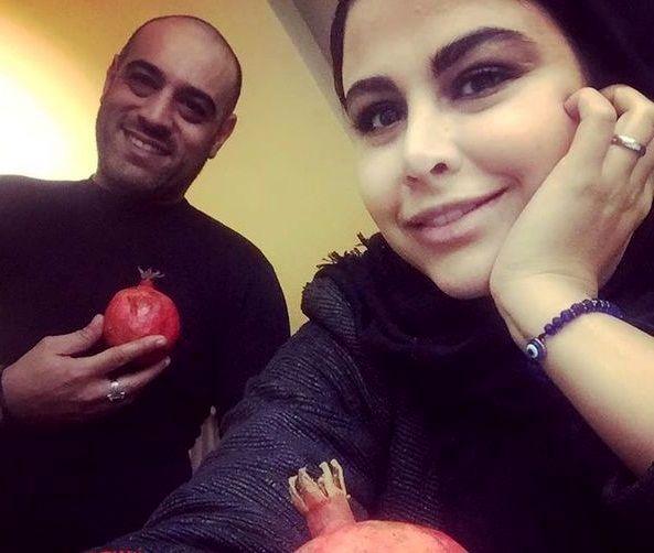 پسر و عروس بازیگر حشمت خان فردوس + عکس
