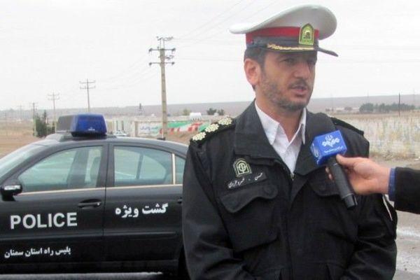 وقوع 32 سانحه در محورهای استان سمنان
