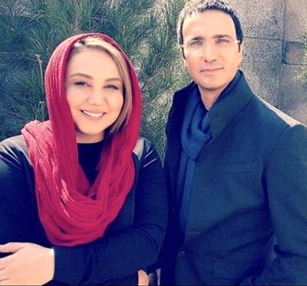 بهنوش بختیاری در کنار محمدرضا فروتن + عکس
