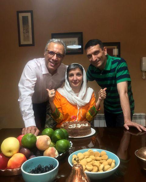 تولد همسر علی فروتن+عکس