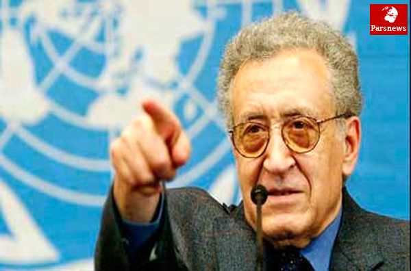 اخضر الابراهیمی تا دو هفته دیگر استعفا میدهد