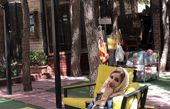 شبنم قلی خانی در کافه ای لاکچری + عکس