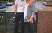 خارج گردی سردار آزمون و مادرش+عکس