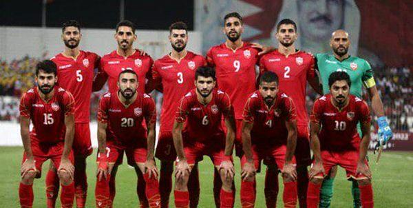 پیروزی تیم ملی فوتبال بحرین در دیداری تدارکاتی