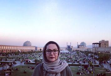 لاله صبوری مهمان اصفهانی ها+عکس