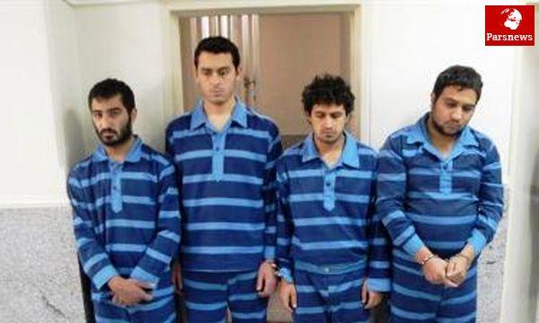 دستگیری بازمانده زورگیران خیابان خردمند