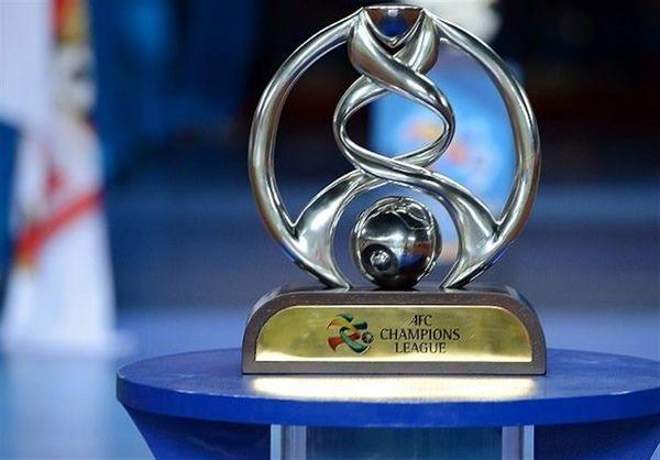 رونمایی از جام لیگ قهرمانان آسیا در تهران