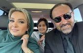 برزو ارجمند و خانواده اش + عکس