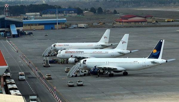 پروازهای فرودگاه مشهد تا بهبود شرایط جوی انجام نمیشود