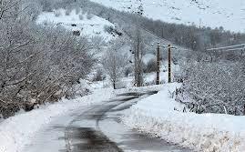 بارش برف در جادههای 7 استان
