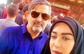 سفر عاشقانه خانم بازیگر چشم رنگی +عکس