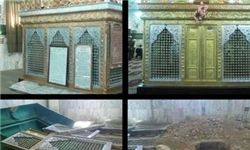 """ضریح"""" حجر بن عدی"""" پیش از تخریب + فیلم و تصاویر"""
