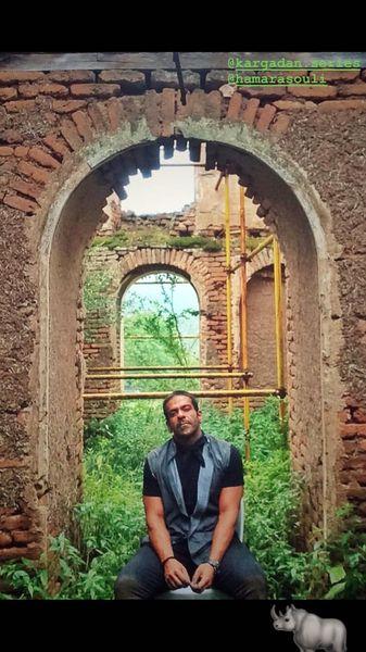 بانی پال شومون در منطقه ای متروکه + عکس