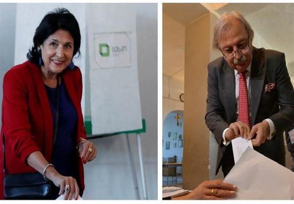نبرد شانه به شانه دو نامزد در انتخابات گرجستان