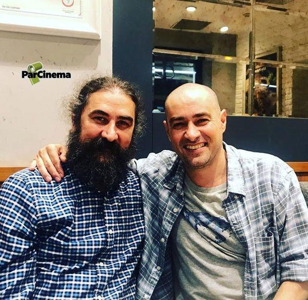 شهاب حسینی با موهای تراشید + عکس