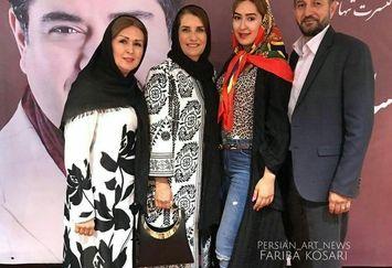 عکس خانوادگی فریبا کوثری در کنسرت