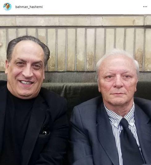 بهمن هاشمی با استاد