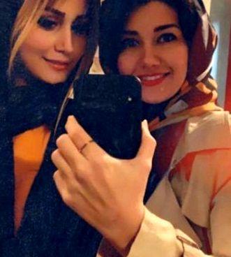 عکس دو زن مهم زندگی شاهرخ استخری