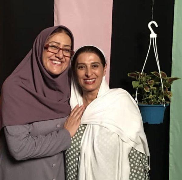 فاطمه هاشمی در آغوش همسر بازیگر مشهور + عکس