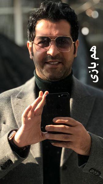 استایل کامران تفتی در هم بازی + عکس