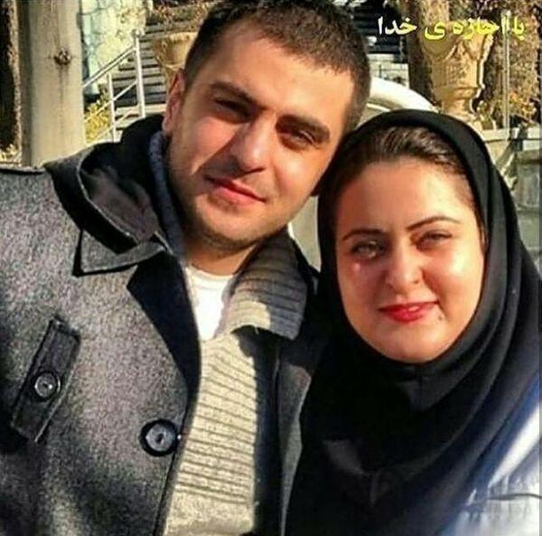 شباهت دیدنی علی ضیا و خواهرش+عکس