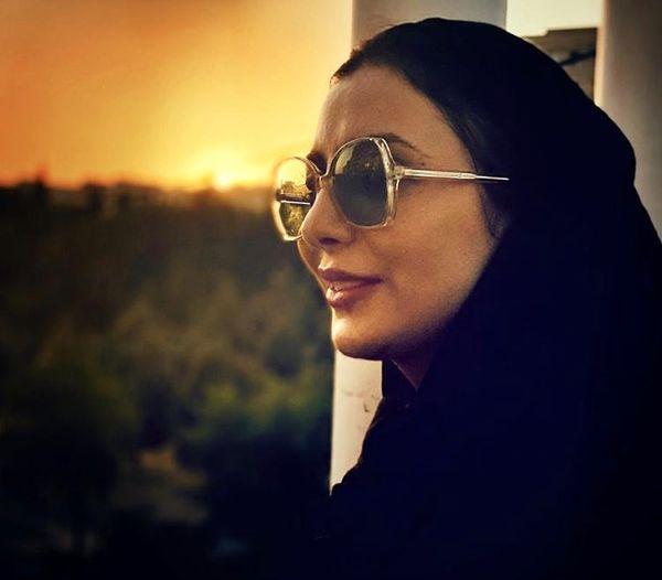 رویا میرعلمی در غروبی زیبا + عکس