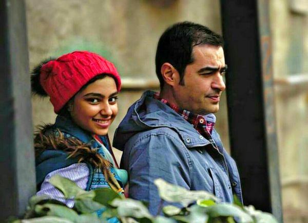 شهاب حسینی و ستایش محمودی در نمایی از نبات