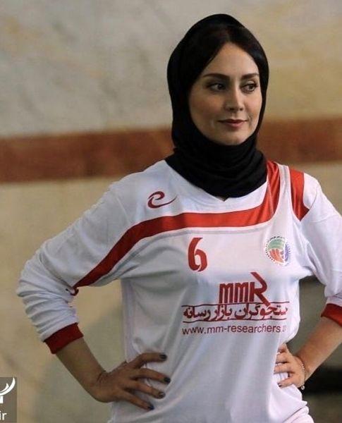استایل فوتبالی مریم خدارحمی + عمس