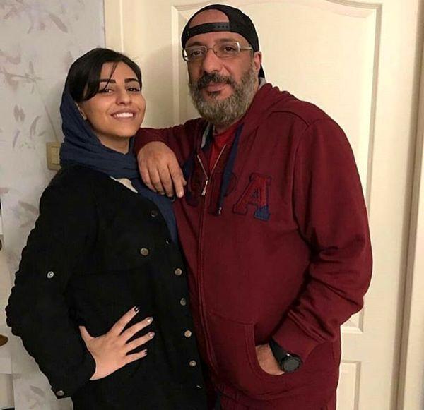 رفاقت خوب امیر جعفری و خواهرزاده اش+عکس