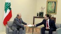 رئیسجمهور لبنان استعفای نخستوزیر این کشور را پذیرفت
