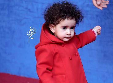 کوچکترین بازیگر جشنواره فجر/عکس