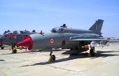 «میگ- ۲۱» نیرویهوائی هند سقوط کرد