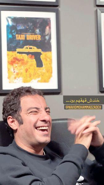 خنده های از ته دل نوید محمدزاده + عکس