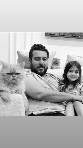 گربه های خانه محسن کیایی + عکس