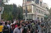 اردنیها برابر سفارت فرانسه تحصن کردند