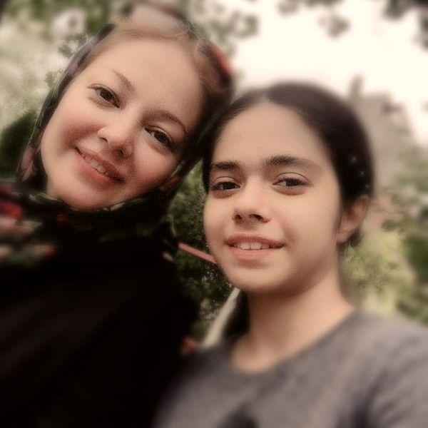 رزیتا غفاری و دختر شیرینش+عکس
